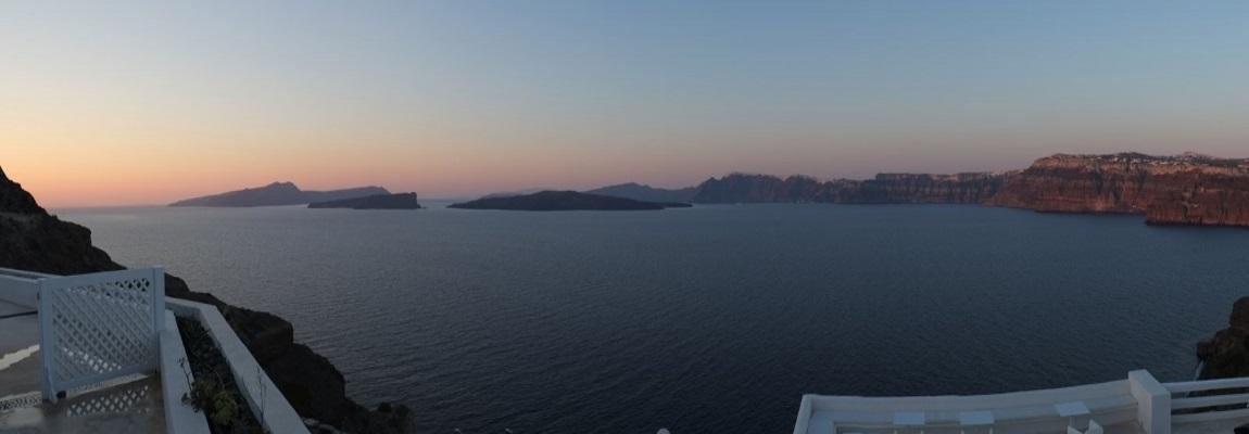Santorin - Vulkaninsel in der Ägäis
